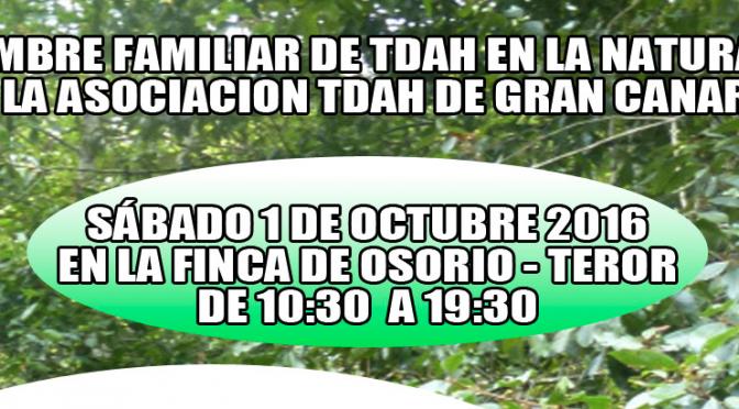 1ª Cumbre Familiar de TDAH en la Naturaleza.